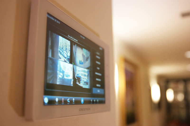 Crestron Video Surveillance Cameras
