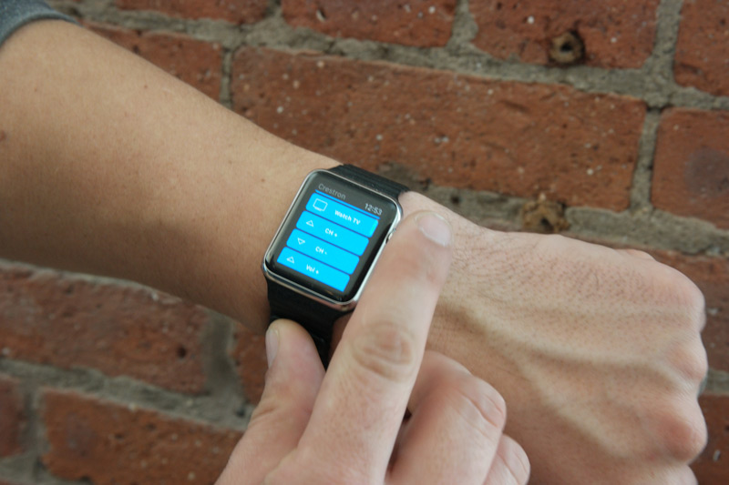 Crestron Apple Watch